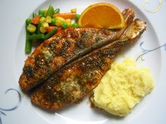 Baked Salmon, Salmon Recipes, Quick Easy Meals, Foodies, Lunch, Orange, Baking, Dinner, Easy Recipes