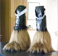 Muy buenas zapas ! :D al mejor estilo #chewbacca :D
