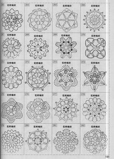 crochet - Page 5 Crochet Leaf Patterns, Crochet Snowflake Pattern, Crochet Leaves, Crochet Stars, Crochet Motifs, Crochet Snowflakes, Crochet Mandala, Crochet Diagram, Crochet Doilies
