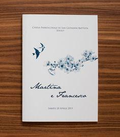 #wedding #blue #book #celebration #paper #matrimonio #libretti #messa