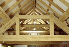 Oak beams from Venables Oak, one of the few timber merchants in the UK to carry large stocks of fresh sawn (green) kiln dried and air dried oak beams. http://www.venablesoak.co.uk