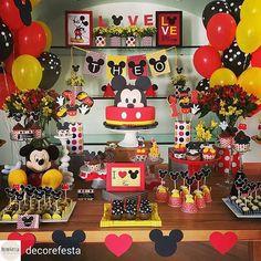 Decoração Mickey