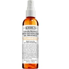 Kiehl's Since 1851 Kiehl's Since 1851 'Color-Protect' Shine Infusing Hair Oil Treatment (€24) found on Polyvore featuring beauty products, haircare, beauty, makeup and hair