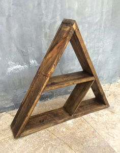 Hey, I found this really awesome Etsy listing at https://www.etsy.com/listing/189635263/unique-triangle-shelf