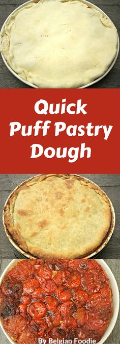EASY PASTRY DOUGH: 5 c. sifted flour 4 tbsp. sugar 1/2 tsp. salt 1/2 tsp. baking powder 1 1/2 c. shortening 2 egg yolks. Combine flour, sugar, salt, and baking powder in mixing bowl. Cut in shortening. Place egg yolks in measuring cup. Beat with fork to mix well. Add enough water to measure 1 scant cup.5/5(7).
