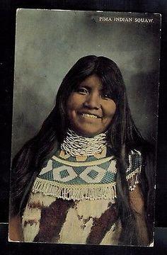 1915-El-Paso-TX-USA-Postcard-Native-American-Indian-Pima-Squaw-Woman-Cover