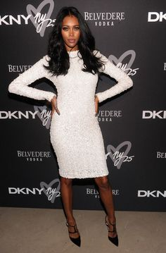 Jessica White for DKNY