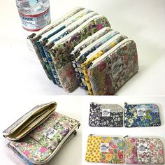 Coin Purse Pattern, Wallet Pattern, Purse Patterns, Frame Purse, Purse Tutorial, Patchwork Patterns, Quilted Bag, Business Inspiration, Handmade Bags