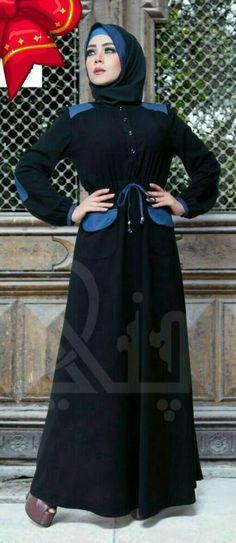 Women Dubai Black Abaya Jalabiya Dress New Very Fancy Silk Wedding Caftan Hijab   Clothing, Shoes & Accessories, Women's Clothing, Dresses   eBay!