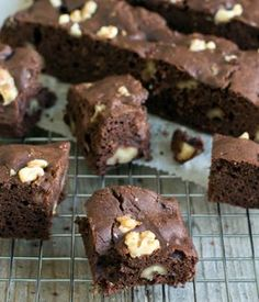Brownies zonder suiker en gluten 02 voor mij ook geen aardbei