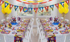 DC Superhero Girls Deluxe Party for 16 Guests
