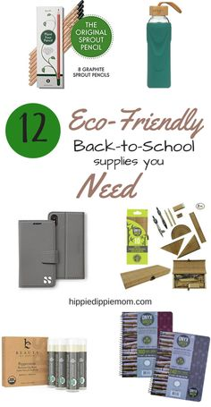 It's back to school time! Which means we'll be spending lots of money on back to school supplies. Here are 12 back to school items that won't break the bank, harm your kids health and they're eco friendly! School Snacks, School Lunch, I School, Public School, Sustainable Schools, Sustainable Living, Back To School Organization, Office Organization, Back To School Hairstyles