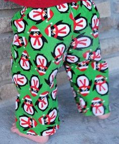 Christmas Eve is the most exciting night of the year for kids. Make it even more special with these Christmas Eve Pajama Pants. This tutorial shows you how to make pajama pants that will have your kids dreaming of sugar plums in no time.