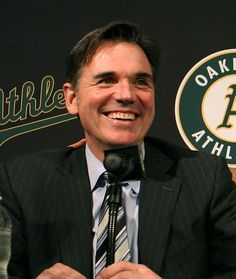 Billy Beane, Oakland A's General Manager and Subject of Moneyball