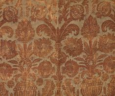 Fortuny textiles at Vintage Textile: #2800 Fortuny stenciled panel