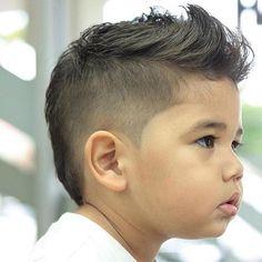 Znalezione obrazy dla zapytania toddler haircut mohawk