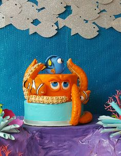 Finding Dory Party. HANK CAKE
