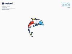 Dolphin Logo by gaga vastard