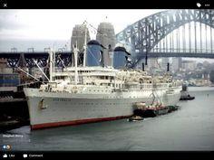 Uss America, Cruise Ships, Shipwreck, Sydney Harbour Bridge, Battleship, Belfast, Vintage Posters, Boats, United States