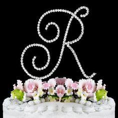 RENAISSANCE MONOGRAM WEDDING CAKE TOPPER LARGE LETTER R by Elegant Bridal, http://www.amazon.com/dp/B005F0IIHW/ref=cm_sw_r_pi_dp_6SEOpb0XF5E61