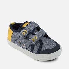 c26b8acc4 Zapatillas deportivas combinada en loneta para bebé niño