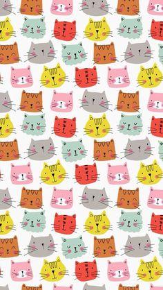 A herd of cats.