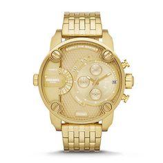 *BRAND NEW* Diesel Men's Chronograph Gold-Tone Watch DZ7287