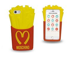 Moschino iPhone5 phone case to look like McDonald's fries!
