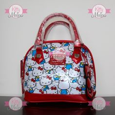 Bolsa CHICA Loungefly Roja/Kittys Hello Kitty