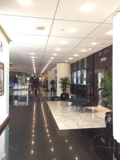 Corridors at Crown Casino.