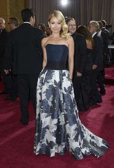 CHNY dresses Kelly Ripa for the 85th Annual Academy Awards