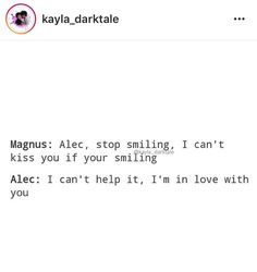 MALEC!!!!!!!!!!!!!!!! Awe they r so adorable together