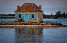 Petite maison bretonne! by Patrice Thomas: Fine Art Photography #photography #amazingpics http://alldayphotography.com