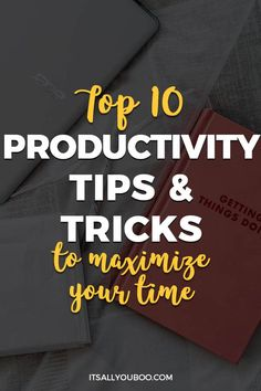 Want to be more productive? Need help with time management? Click here for the top 10 productivity tips, like how to write to-do lists, prioritize and more. Plus, get life hacks for moms, college students and entrepreneurs. #ProductivityTips #Productivity #Productive #Success #GoalSetting #Motivation #TimeManagement #TimeManagementTips #Procrastination #LifeHack #Organization #Organize #Organized #Balance #Routine #DailyRoutine #WorkLifeBalance #SelfImprovement #DailyHabits #SelfHelp Business Tips, Online Business, Business Education, Business School, Coaching, Productivity Quotes, Time Management Tips, Business Management, Property Management
