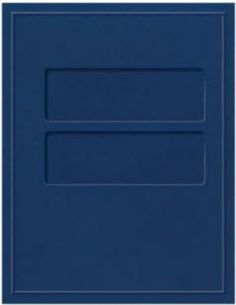 Top-Staple Tax Folder with Pocket and Windows.
