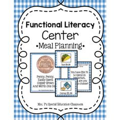 Functional Literacy Center- Ordering a Meal