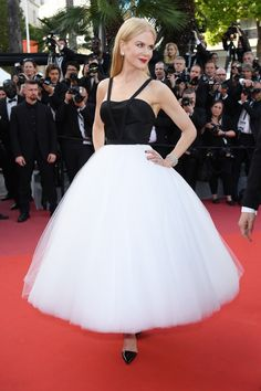 Nicole Kidman wears a Calvin Klein