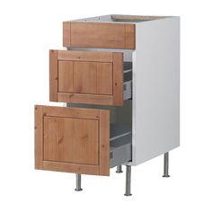 FAKTUM Alapszekrény+3 fiók - Fagerland ant.hat, 40 cm  - IKEA 43.500.-