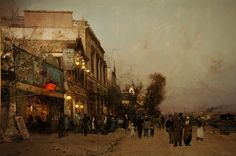 cinque-del-mattino:  Luigi Loir (1845 – 1916)