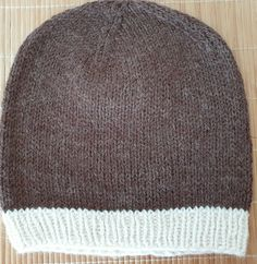 Hand knitted brown and white hat in wool and alpaca by Ebooksandhandmade on Etsy Mittens, Hand Knitting, Cowl, Knitted Hats, Hands, Ebay, Accessories, Women, Fashion