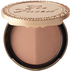 Sun Bunny Natural Bronzer (520 MXN) ❤ liked on Polyvore featuring beauty products, makeup, cheek makeup, cheek bronzer, beauty, cosmetics and accessories
