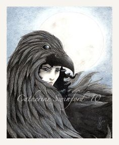 Signed Hecate art print 55x7 by The Still Wood on Etsy.