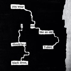 """could black out poetry be a analysis tool for the lit review? """"In your wardrobe,"""" a newspaper blackout by Austin Kleon (@Austin Kleon)"""