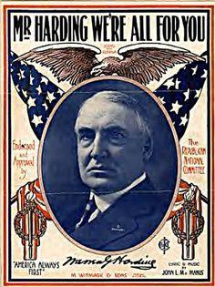 Warren Harding Poster: