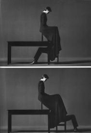 Jurgen Klauke  Heimspiel, 1990/1992  Black and white photographs  Each: 125 x 180 cm