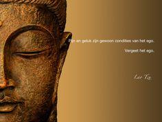 Pijn en geluk zijn gewoon condities van het ego. Vergeet het ego. / Lao Tzu