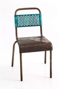 metal, chair