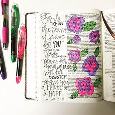 journaling bible, bible journal