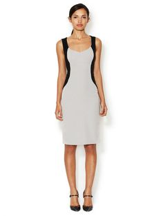 Olivia Curved Panel Sheath Dress