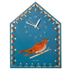 The Printed Peanut - Cuckoo Clock, £35.00 (http://www.theprintedpeanut.co.uk/cuckoo-clock/)